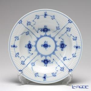 ロイヤルコペンハーゲン ブルー フルーテッド プレイン プレート(ディープ) 21cm 1101604/1017195|le-noble