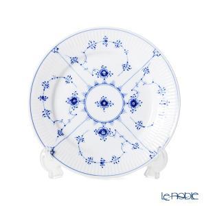 ロイヤルコペンハーゲン ブルー フルーテッド プレイン プレート(フラット) 19cm 1101620|le-noble