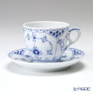 ロイヤルコペンハーゲン ブルー フルーテッド ハーフレース コーヒーカップ&ソーサー 170cc 1102071/1017205|le-noble