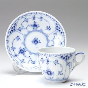 ロイヤルコペンハーゲン ブルー フルーテッド ハーフレース コーヒーカップ&ソーサー 170cc 1102071/1017205 le-noble 02