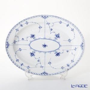 ロイヤルコペンハーゲン ブルー フルーテッド ハーフレース ディッシュ(楕円) 36.5×29cm 1102375/1017212 皿|le-noble