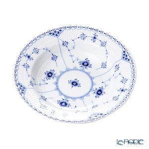 ロイヤルコペンハーゲン ブルー フルーテッド ハーフレース プレート(ディープ) 21cm 1102604/1017221|le-noble