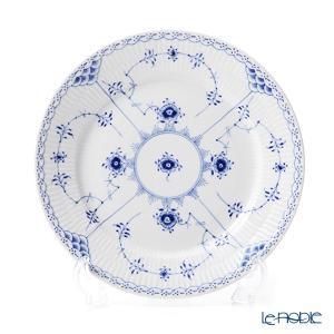 ロイヤルコペンハーゲン ブルー フルーテッド ハーフレース プレート(フラット) 22cm 1102622/1017223 皿|le-noble