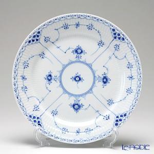 ロイヤルコペンハーゲン ブルー フルーテッド ハーフレース プレート(フラット) 25cm 1102625/1017224 皿|le-noble