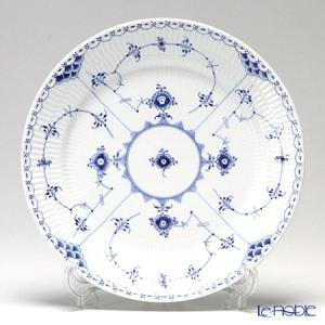 ロイヤルコペンハーゲン ブルー フルーテッド ハーフレース プレート(フラット) 27cm 1102627/1017225 皿|le-noble