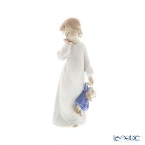 少女もお人形もそろそろ眠くなってきたようです。。。 ナオ NAO スペイン フィギュリン