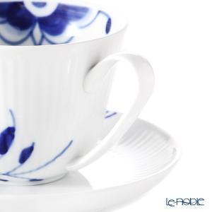ロイヤルコペンハーゲン ブルー フルーテッド メガ ティーカップ&ソーサー 240cc 2381064/1016877 アフタヌーンティー le-noble 05