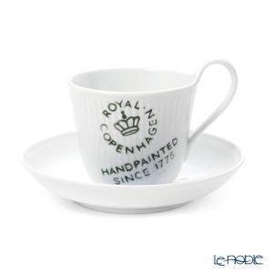 ロイヤルコペンハーゲン フルーテッドシグネチャー ティーカップ&ソーサー(ハイハンドル) 240cc 2556092/1017477 アフタヌーンティー|le-noble
