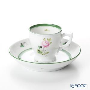 ヘレンド(Herend) ウィーンのバラ 00729-0-00 モカカップ&ソーサー 50cc|le-noble