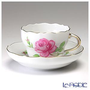 マイセン ピンクのバラ 020110/00582 コーヒーカ...