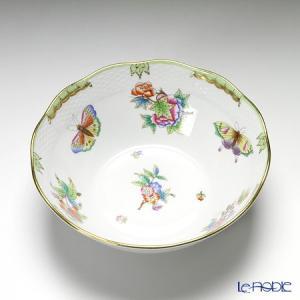 ヘレンド(Herend) ヴィクトリア・ブーケ 00360-0-00 ボウル 20cm|le-noble