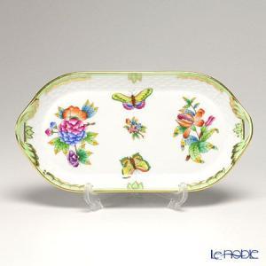 ヘレンド(Herend) ヴィクトリア・ブーケ 00437-0-00 サービストレー 23cm 皿|le-noble