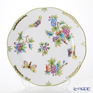 ヘレンド(Herend) ヴィクトリア・ブーケ 00524-0-00/524 プレート 25cm 皿|le-noble