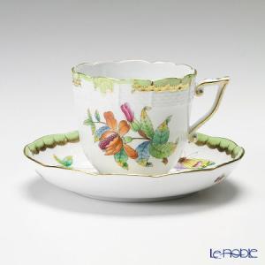 ヘレンド(Herend) ヴィクトリア・ブーケ 00706-0-00 コーヒーカップ&ソーサー 160cc|le-noble