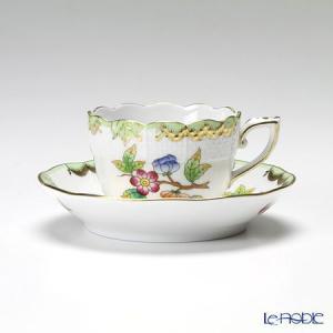 ヘレンド(Herend) ヴィクトリア・ブーケ 00711-0-00 モカカップ&ソーサー 100cc|le-noble