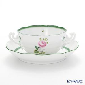 ヘレンド(Herend) ウィーンのバラ 00718-0-00 スープカップ&ソーサー 180cc|le-noble
