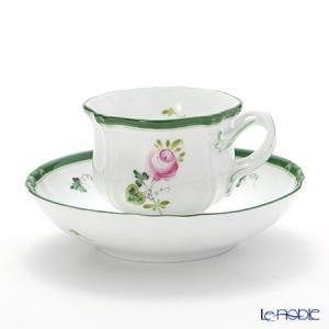 ヘレンド(Herend) ウィーンのバラ 04227-0-00 ティーカップ&ソーサー アフタヌーンティー|le-noble