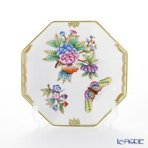 ヘレンド(Herend) ヴィクトリア・ブーケ 04304-1-00 小皿(オクタゴナル) 13.5cm 皿|le-noble