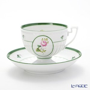 ヘレンド(Herend) ウィーンのバラ 04459-0-00 ティーカップ&ソーサー アフタヌーンティー|le-noble