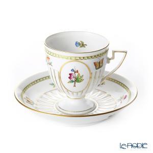 ヘレンド(Herend) ヴィクトリア・ブーケ 04467-0-00 アンピール カップ&ソーサー|le-noble