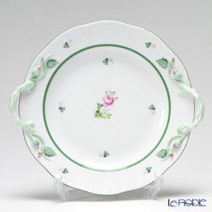 ヘレンド(Herend) ウィーンのバラ 00175-0-00/425 丸ケーキプレート 27.5cm 皿|le-noble