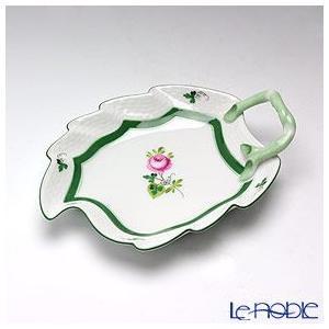 ヘレンド(Herend) ウィーンのバラ 00205-0-00/205 リーフディッシュ 15cm 皿|le-noble