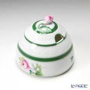 ヘレンド(Herend) ウィーンのバラ 00243-7-09/243 マスタードポット(ローズ)|le-noble