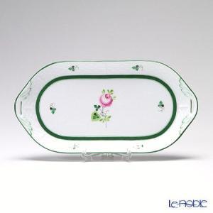 ヘレンド(Herend) ウィーンのバラ 00437-0-00/437 サービストレー 23cm 皿|le-noble