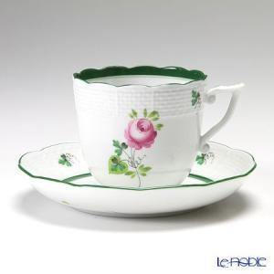 ヘレンド(Herend) ウィーンのバラ 00706-0-00/706 コーヒーカップ&ソーサー 160cc|le-noble