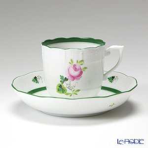 ヘレンド(Herend) ウィーンのバラ 00707-0-00/707 モカカップ&ソーサー 150cc|le-noble