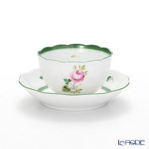 ヘレンド(Herend) ウィーンのバラ 00710-0-91 ジャパニーズカップ&ソーサー 130cc|le-noble
