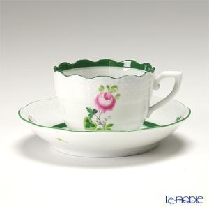 ヘレンド(Herend) ウィーンのバラ 00711-0-00/711 モカカップ&ソーサー 100cc|le-noble