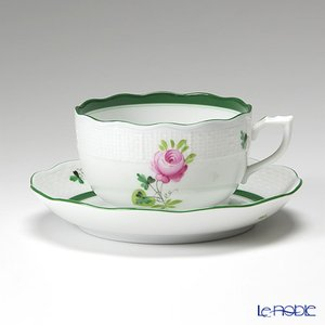 ヘレンド(Herend) ウィーンのバラ 00724-0-00/724 ティーカップ&ソーサー 200cc アフタヌーンティー|le-noble
