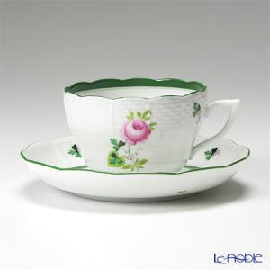 ヘレンド(Herend) ウィーンのバラ 00730-0-00/730 ティーカップ&ソーサー(兼用) 200cc アフタヌーンティー|le-noble