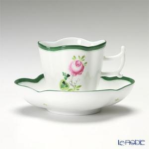 ヘレンド(Herend) ウィーンのバラ 04198-0-00/4198 コーヒーカップ&ソーサー(楕円) 100cc|le-noble