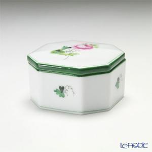 ヘレンド(Herend) ウィーンのバラ 06104-0-00/6086 オクタゴナルボックス|le-noble
