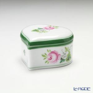 ヘレンド(Herend) ウィーンのバラ 06111-0-00/6121 ハートボックス|le-noble
