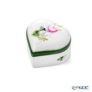 ヘレンド(Herend) ウィーンのバラ 06112-0-00 ハートボックス|le-noble
