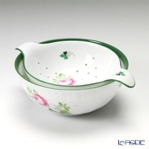 ヘレンド(Herend) ウィーンのバラ 001453/01454 ティーストレーナー/ボウル|le-noble