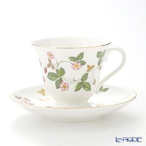 ウェッジウッド(Wedgwood) ワイルドストロベリー ティーカップ&ソーサー(ビクトリア) 180cc アフタヌーンティー|le-noble
