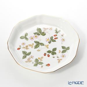 ウェッジウッド(Wedgwood) ワイルドストロベリー オクタゴナルディッシュ L 24cm 皿|le-noble