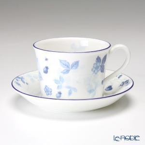 ウェッジウッド(Wedgwood) ストロベリーブルー ティーカップ&ソーサー(デルフィ) アフタヌーンティー|le-noble