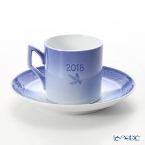 ロイヤルコペンハーゲン イヤーカップ&ソーサー 2018年/平成30年 CHRISTMAS TREE MARKET le-noble 02