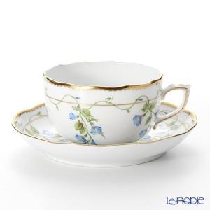 ヘレンド(Herend) モーニンググローリー NY 20724-0-00/20724 ティーカップ&ソーサー 200cc アフタヌーンティー|le-noble
