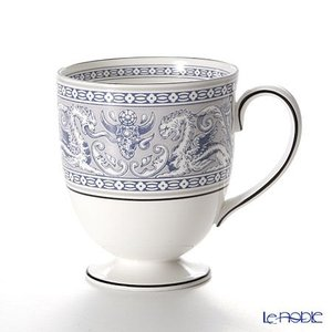 ウェッジウッド(Wedgwood) フロレンティーン インディゴホワイト マグカップ(リー)|le-noble