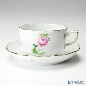 ヘレンド(Herend) ウィーンのバラ シンプル 00724-0-00 ティーカップ&ソーサー 200cc...