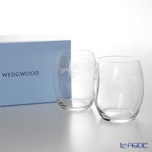 ウェッジウッド(Wedgwood) フェスティビティ クリスタル タンブラー 200cc ペア グラス|le-noble