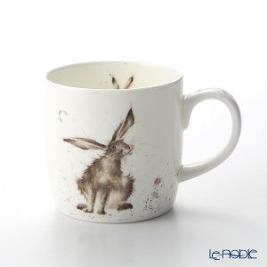ロイヤル・ウースター レンデル マグ 330cc Good Hare Day 野ウサギ|le-noble