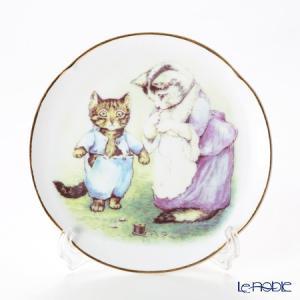 ロイター・ポーセリン ビアトリクスポター 058530/3-II(ボタン) 子猫のトム プレート 1...