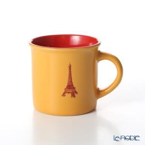Nothing as Paris ミニマグカップ(オレンジ/赤/濃赤) アウトドア キャンプ|le-noble